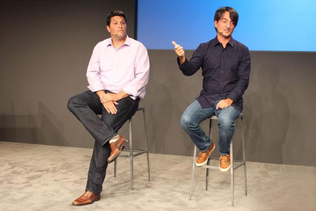 マイクロソフトのテリー・マイヤーソンとジョー・ベルフィオーレ